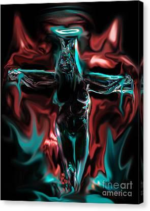 Die 4 Your Sins Canvas Print by Tbone Oliver