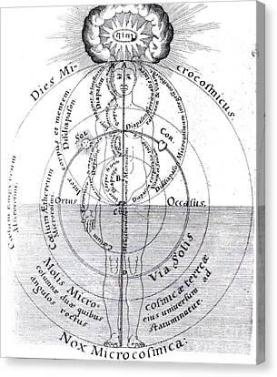 Dies Microcosmicus, Nox Microcosmica Canvas Print by Science Source