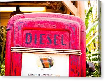 Diesel Pump Canvas Print