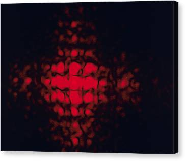 Diffraction Pattern Canvas Print by Andrew Lambert Photography