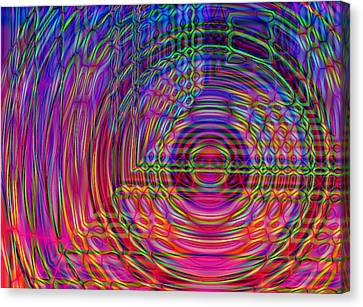 Canvas Print featuring the digital art Digets by David Pantuso