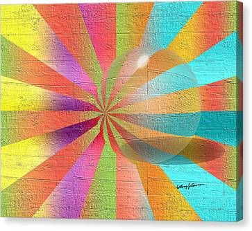 Digital Art 2 Canvas Print by Anthony Caruso