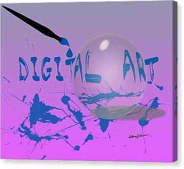 Digital Art Canvas Print by Anthony Caruso