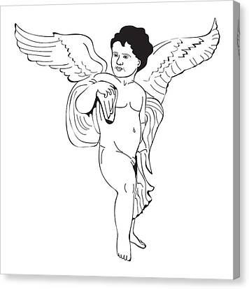 digital illustration of guardian spirit genius loci depicted in, Muscles