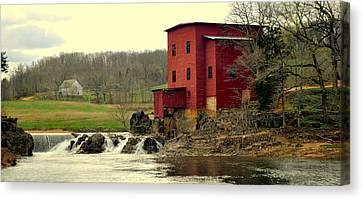 Dillard Mill 2 Canvas Print by Marty Koch
