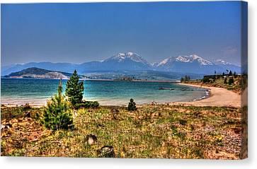 Dillon Lake Canvas Print by Sergio Aguayo
