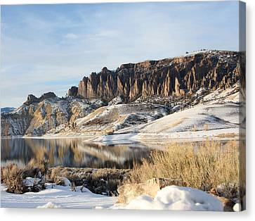 Canvas Print featuring the photograph Dillon Pinnacles II by Marta Alfred