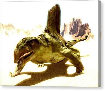 Dimetrodon, Artwork Canvas Print