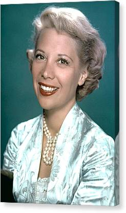 Dinah Shore, Ca. 1950s Canvas Print by Everett