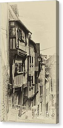 Canvas Print featuring the photograph Dinan Antique I by Jack Torcello