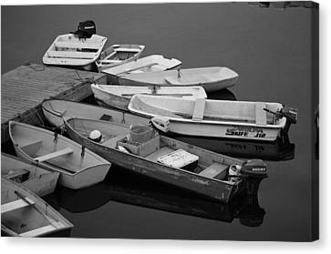 Dinghies Canvas Print by David Rucker