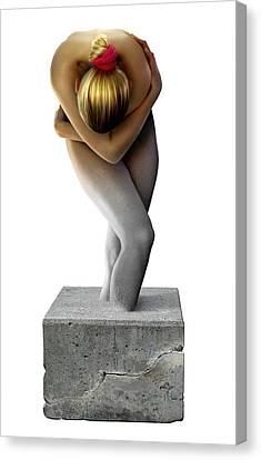 Disability, Conceptual Image Canvas Print by Smetek