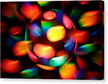 Disco Burst Canvas Print