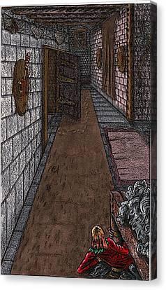 Disembodied Footprints Canvas Print by Al Goldfarb
