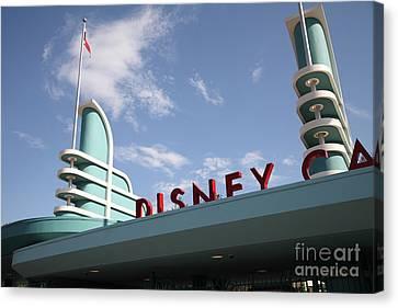 Disney California Adventure - Anaheim California - 5d17525 Canvas Print by Wingsdomain Art and Photography