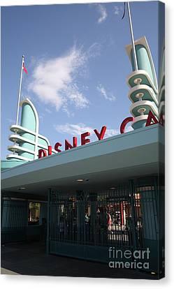 Disney California Adventure - Anaheim California - 5d17527 Canvas Print by Wingsdomain Art and Photography