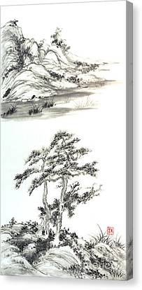 Distant Lands Canvas Print by Yolanda Koh