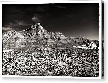 Distant Peak Canvas Print by John Rizzuto