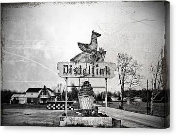 Distelfink - Gettysburg Canvas Print