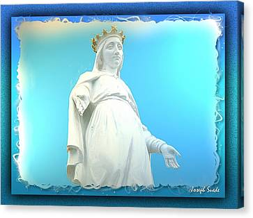 Do-00531 Our Lady Of Lebanon Canvas Print