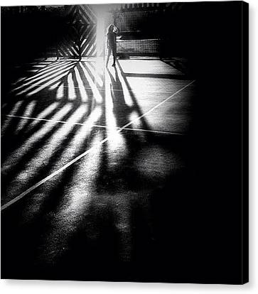 Do You See Darkness Or Light Canvas Print