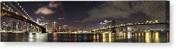Doble Puente Canvas Print by Alex Ching