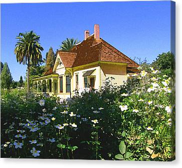Doc Clark's House Canvas Print by Timothy Bulone