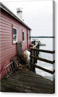 Dock Side Canvas Print