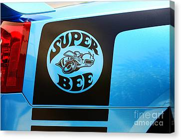 Dodge Charge Super Bee Logo  Canvas Print by Paul Ward