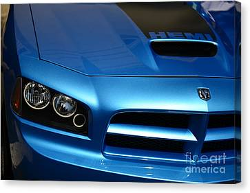 Dodge Charger Srt8 Super Bee Canvas Print by Paul Ward
