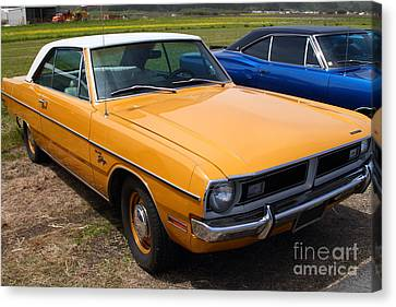 Dodge Dart Swinger . 7d15255 Canvas Print by Wingsdomain Art and Photography