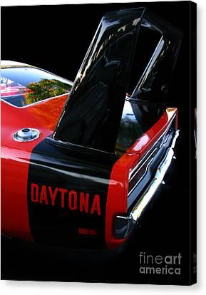 Dodge Daytona Fin 02 Canvas Print by Peter Piatt