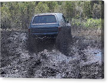 Dodge Ramcharger In Local Mud 2 Canvas Print
