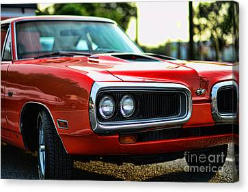 Dodge Super Bee Classic Red Canvas Print by Paul Ward