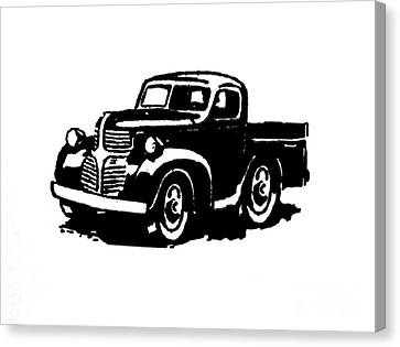 Dodge Truckin Canvas Print