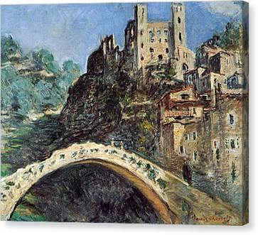 Dolceacqua Canvas Print by Claude Monet