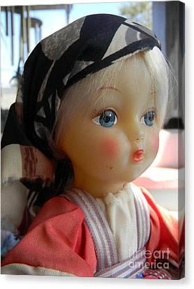Doll Canvas Print by Anita V Bauer