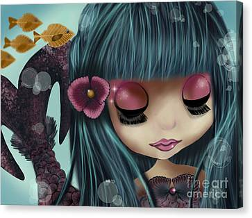 Doll From The Sea Canvas Print