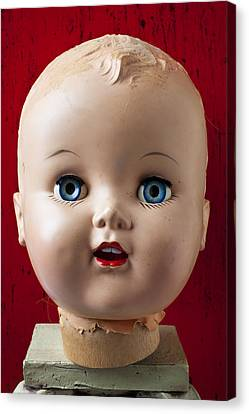 Dolls Haed Canvas Print by Garry Gay