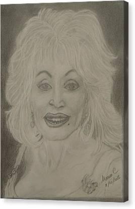Dolly Parton Canvas Print