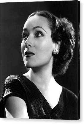 Dolores Del Rio, Ca. 1935 Canvas Print by Everett