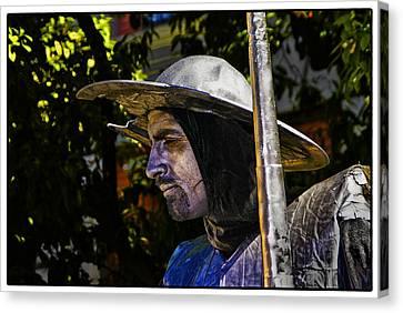 Canvas Print featuring the photograph Don Quixote Color by Rick Bragan