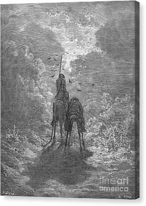 Don Quixote Canvas Print by Granger