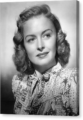 Donna Reed, Ca. 1940s Canvas Print by Everett