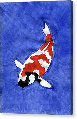 Don't Be Koi Canvas Print