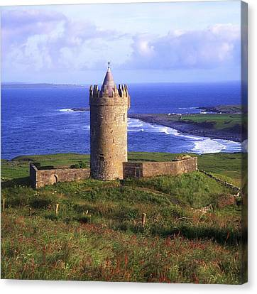 Doonagore Castle, Co Clare, Ireland Canvas Print by The Irish Image Collection