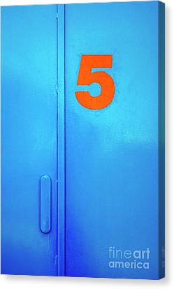 Door Five Canvas Print by Carlos Caetano