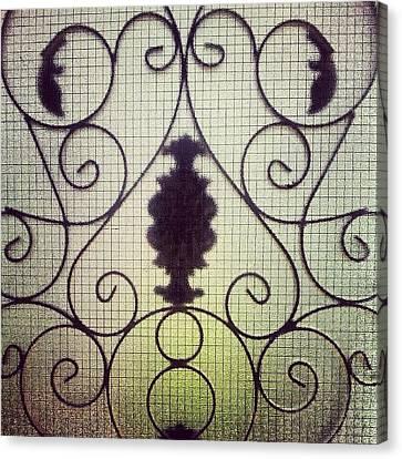 Ignation Canvas Print - #door #glass #garden #art #home #house by Abdelrahman Alawwad