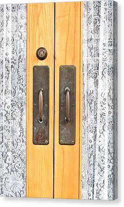 Door Handles Canvas Print