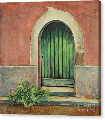 Door I Canvas Print by Pamela Iris Harden